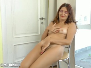 Big ass spanked! Whore squirted and cum swallowing