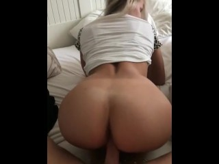 Chubby midget fucked from behind Midget