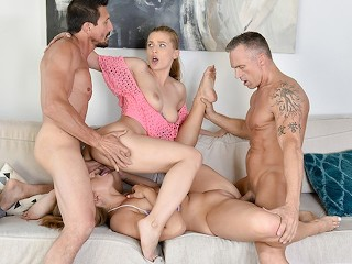 Hot Teen Blonde Takes A Giant Light Skin BBC! SEXY GUY with tattoos!