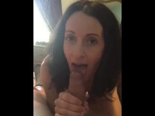 Amature wife blow job video