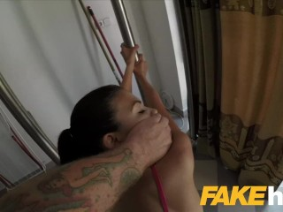 Girl paid flash tits