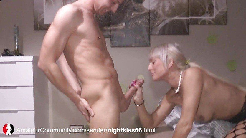 Son caught masturbating fucks mom